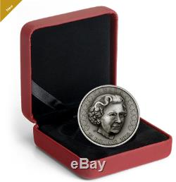 0.9999 Silver Coin Her Majesty Queen Elizabeth II Matriarch of the Royal Family