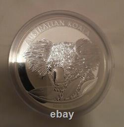 10 Oz (10 ounce) Silver Bullion coin Australian Koala and queen Elizabeth