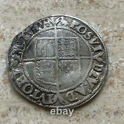 1560-61 ENGLAND Great Britain UK Queen ELIZABETH I Silver Shilling