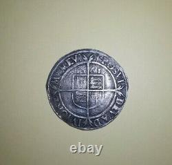 1561 QUEEN ELIZABETH 1st SIXPENCE VERY HIGH GRADE FULL FLAN 19mm INNER RING