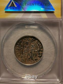 1567 ENGLAND QUEEN ELIZABETH I SILVER 6 PENCE Certified XF40 Details