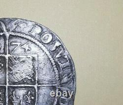 1574 QUEEN ELIZABETH 1st SIXPENCE VERY HIGH GRADE RARE DOUBLE STRIKE