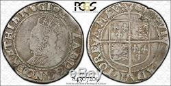 (1592-1595) Great Britain Queen Elizabeth Shilling PCGS VG10 Lot#G756 Silver