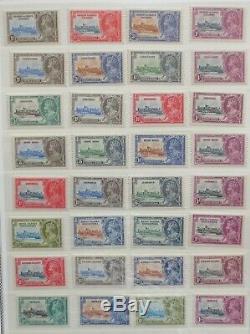 1935 Silver Jubilee British Omnibus Mint 148 stamps, Queen Elizabeth Cornation
