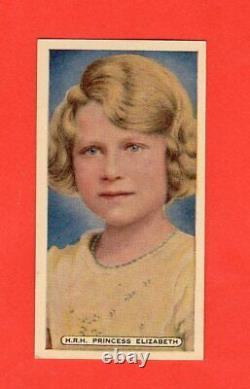 1935 Silver Jubilee Queen Elizabeth RC Ardath Cigarettes Card Nrmnt