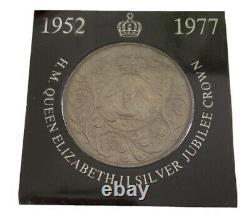1952-1977 H. M. Queen Elizabeth II Silver Jubilee Nat West Crown COIN