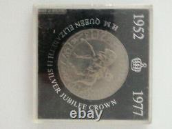 1952-1977 H. M. Queen Elizabeth II Silver Jubilee Nat West Crown collectors coin