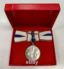 1952-1977 Queen Elizabeth II Silver Jubilee Medal in Box