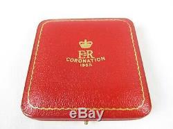 1953 Queen Elizabeth II Coronation Silver Medal Coin SPINK & SON Vintage RARE