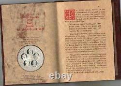 1975 CAYMAN ISLANDS UK Queens Elizabeth Victoria Mary Anne Silver 50 dollar Coin