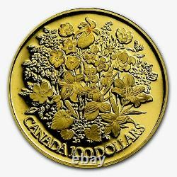 1977 Canada Queen Elizabeth II Silver Jubilee $100 Dollars Gold Coin 1/2 Troy Oz