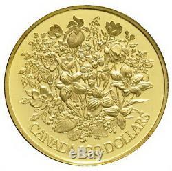 1977 Canada Queen Elizabeth II Silver Jubilee $100 Gold Proof Coin with Box & COA