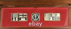 1977 Queen Elizabeth II Royal Standards Sterling Silver ingots