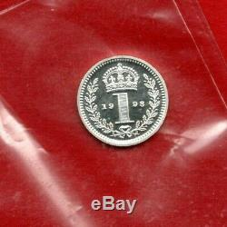 1998 Silver Maundy Penny Coin. Given By Queen Elizabeth At Portsmouth Cathedral