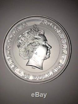 1 Kilo Australian Koala/ Queen Elizabeth II 2011.999 Pure Fine Silver Coin $30