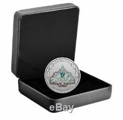 1 oz. Pure Silver Coin Her Majesty Queen Elizabeth II's Brazilian Aquamarine T