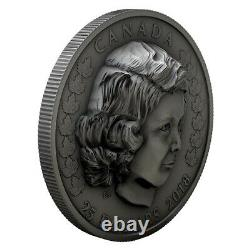 1 oz. Pure Silver EHR Coin Her Majesty Queen Elizabeth II The Young Princess