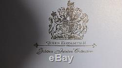 2002-2003 Queen Elizabeth Golden Jubilee Collection 24 Silver Coins