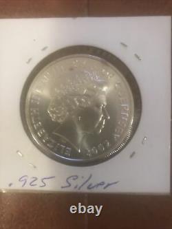 2002 GUERNSEY Island Queen Elizabeth II William Duke Normandy Silver 3 Coins