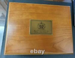 2002 Queen Elizabeth II golden jubilee set of 24 silver proof crowns