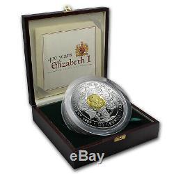 2003 Isle of Man 4 Kilo Silver Queen Elizabeth I Coin SKU #87465