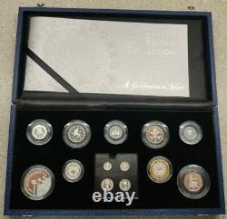 2006 Queen Elizabeth II 80th Birthday Silver Proof Circulation Set