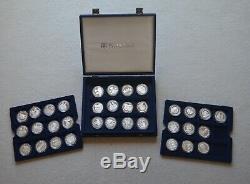2007 Diamond Wedding Queen Elizabeth & Phillip 34 Silver Proof Collection