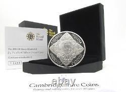 2008 Silver Piedfort Proof Queen Elizabeth I £5 Coin Box COA Royal Mint