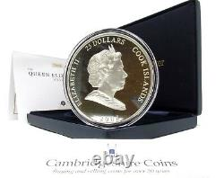 2008 Silver Proof Queen Elizabeth I 5oz $25 Coin Box Coa
