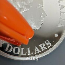 2011 P Australia $8 Silver 5 OZ Koala NGC PF69 Rare Coin Queen Elizabeth Cameo