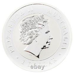 2012 Australian Kookaburra 1 oz. 999 Silver $1 BU Coin Queen Elizabeth II