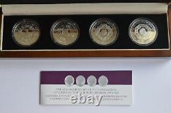 2013 60th Anniversary of Coronation of Queen Elizabeth II Silver Crown Set TDC