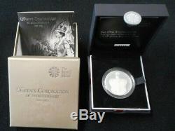2013 Great Britain PIEDFORT 5 Pound Coronation Commemorative, QUEEN ELIZABETH II