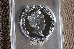 2015 Five Portraits Queen Elizabeth II 5 ounce silver PCGS PR70 12th MINTED