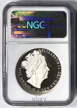2015 Piedfor GB Queen Elizabeth II Proof Coin Ngc Pf 70 Ultra Cameo Box And Coa