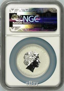 2015 QUEEN ELIZABETH LONGEST REIGNING MONARCH Silver $1 INTAGLIO coin NGC PF69