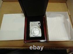 2015 Silver Is. Of Man Crown Queen Elizabeth II Box Ngc Pf 70 Ultra Cameo