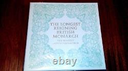 2015 The Longest Reigning British Monarch Queen Elizabeth II PNC-only 120 issued