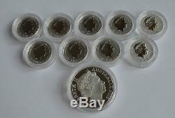 2016 Australian Queen Elizabeth II 90th Birthday Silver Coin Set