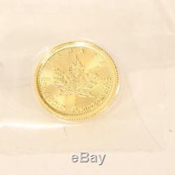 2016 Canada Queen Elizabeth II 24k Yellow Gold $1 Coin