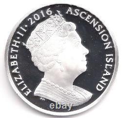 2016 Fine Silver proof 5oz 5 Crown Coin Queen Elizabeth II 90th Box COA