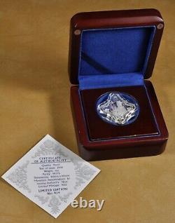 2016 Niue Island $2 Fine Silver Coin Royal Star Queen Elizabeth 90th Birthday