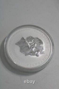 2016 Queen Elizabeth II 5oz 999 Silver Year of the Monkey $8 Australian Coin
