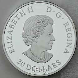 2018 $20 Royal Portrait Queen Elizabeth & Prince Charles, Pure Silver Proof Coin