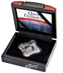 2018 CORONATION QUEEN ELIZABETH ROYAL STAR 1oz Silver Proof Coin