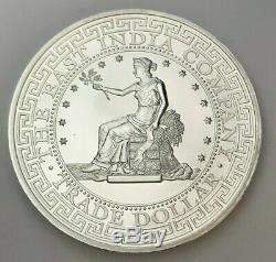 2018 One Pound Silver Round Queen Elizabeth II St. Helena Trade Dollar Bu (mr)