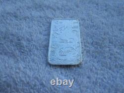 2018 Queen Elizabeth II Australia 1 Oz DRAGON. 9999 Silver Bar $1 Coin Lot x6