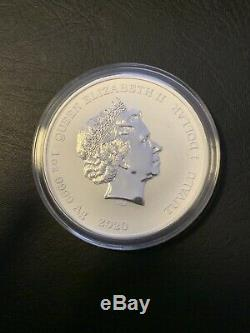 2020 1 Ounce Queen Elizabeth II BEAUTIFUL Pure. 999 Silver Coin. RARE! In Case