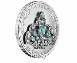 2020 $20 Canada 1oz Silver Proof Ngc Pf70 Queen Elizabeth Brazilian Tiara Fs