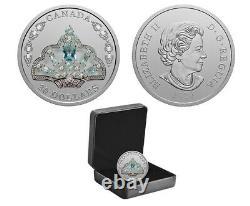 2020 $20 Fine Silver Coin The Queen Elizabeth II's Aquamarine Tiara